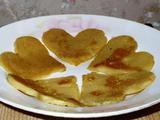 """Форма для выпечки яиц и блинчиков """"сердце"""", бу"""
